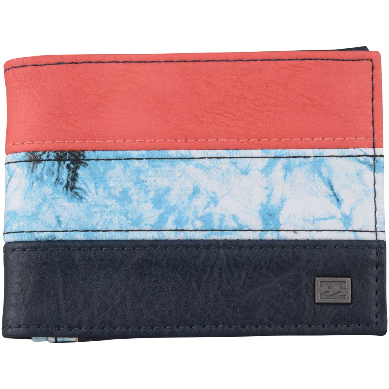 4fa68324c Billetera de Hombre Billabong Negro / Rojo tribong wallet ...