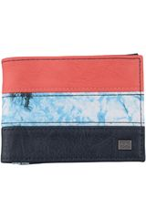 Billetera de Hombre Billabong TRIBONG WALLET Negro / Rojo