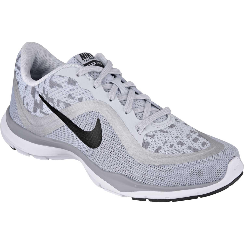 Zapatilla de Mujer Nike Blanco / negro wmns flex trainer 6 print