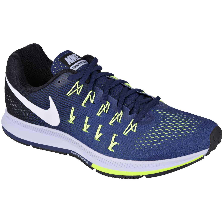 Zapatilla de Hombre Nike Azul   Verde air zoom pegasus 33 ... bae3197694775