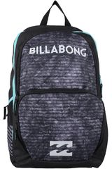 Billabong Gris / Menta de Hombre modelo STRIKE THROUGH PACK Mochilas