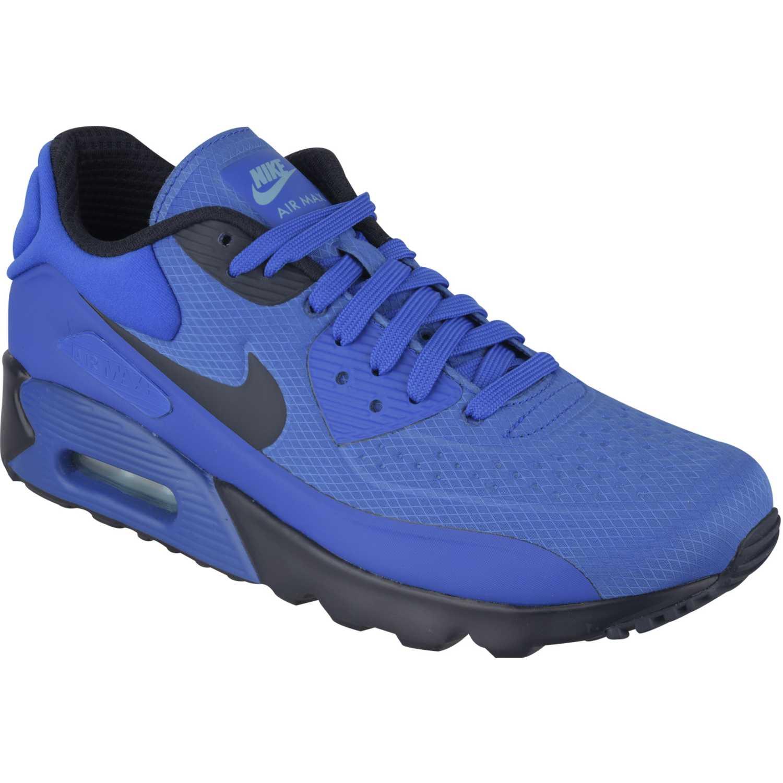 zapatillas nike air max 90 azules ultra hombre
