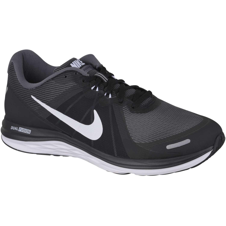 69ad86ec00a57 Zapatilla de Hombre Nike Negro   Blanco dual fusion x 2