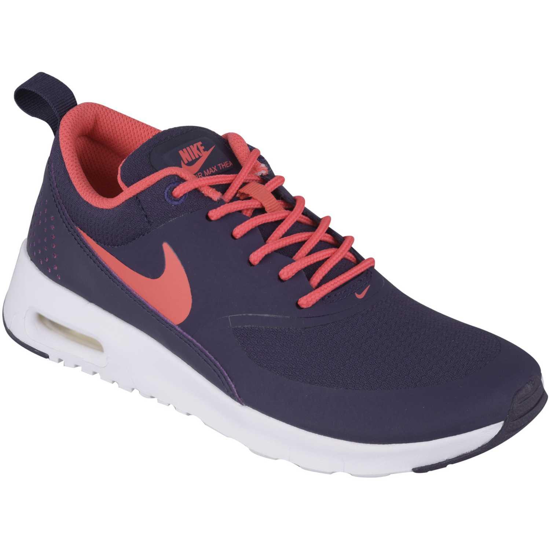 best sneakers 7c1b8 158d3 Zapatilla de Mujer Nike Morado  Coral air max thea gg