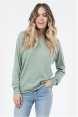 Chompa de Mujer Billabong ALL TIME KNIT CREW Musgo