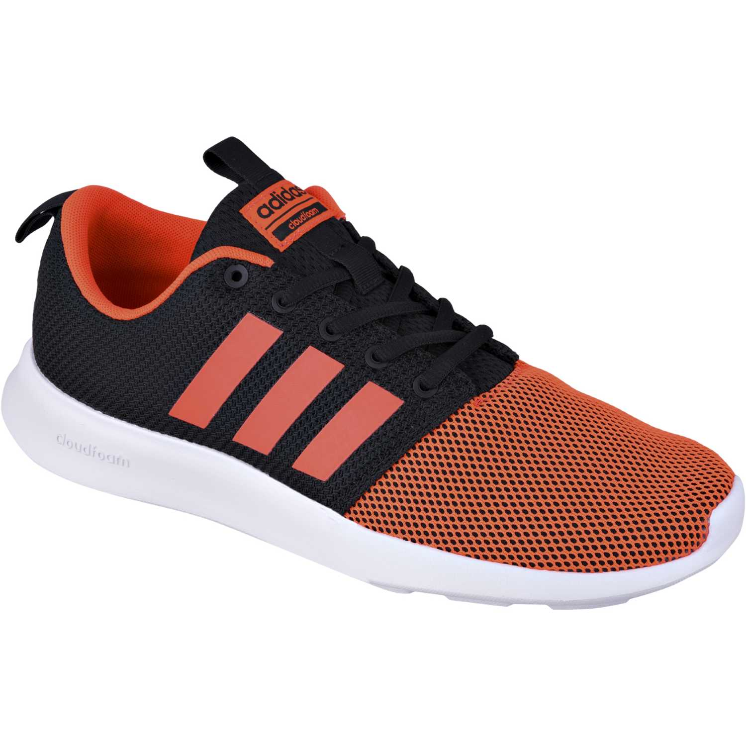 buy popular f1400 72e87 Zapatilla de Hombre adidas NEO Negro  Naranja cloudfoam swift racer