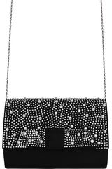 Platanitos Negro de Mujer modelo CBH287D Fiesta Carteras
