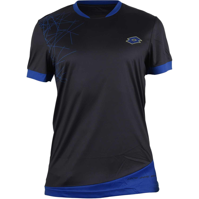 Camiseta de Hombre Lotto Negro t-shirt gravit