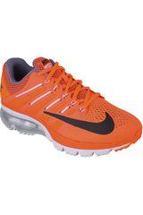 Nike Naranja / Gris de Mujer modelo WMNS AIR MAX EXCELLERATE 4 Zapatillas Deportivo Calzado Casual Running