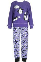 Pijama de Mujer Kayser 60.1082 Morado