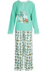Pijama de Mujer Kayser 60.1084 Turquesa