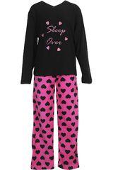 Pijama de Mujer Kayser60.1086 Negro
