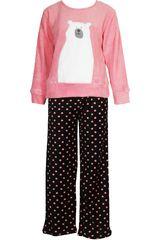 Pijama de Niña Kayser 65.1097 Coral