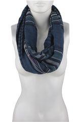 Bufanda de Mujer Platanitos 1025030 Azul