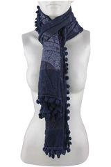 Bufanda de Mujer Platanitos 1025011 Azul
