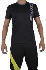 Camiseta de Hombre Lotto T-SHIRT DEVIN Negro