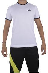 Lotto Blanco de Hombre modelo R6933 Camisetas Polos Deportivo