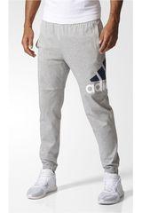 Adidas Gris de Hombre modelo ess lgo t p sj Pantalones Deportivo