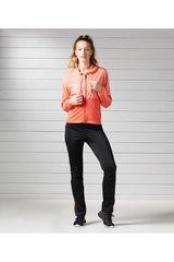 Reebok Negro / Coral de Mujer modelo EL TS STRETCH POLY Buzos Deportivo