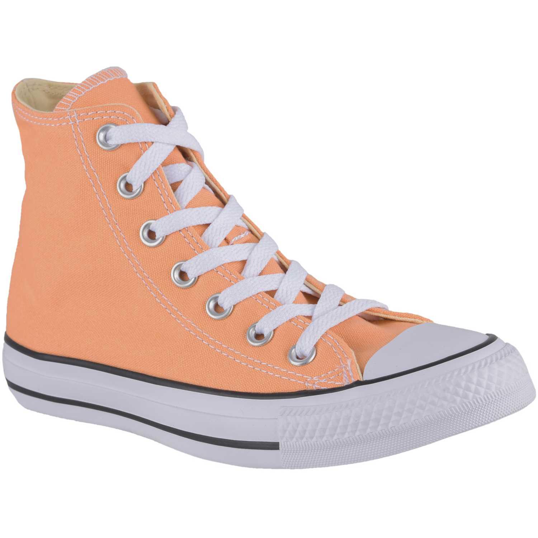 Zapatilla de Jovencita Converse Naranja ct as seasonal hi