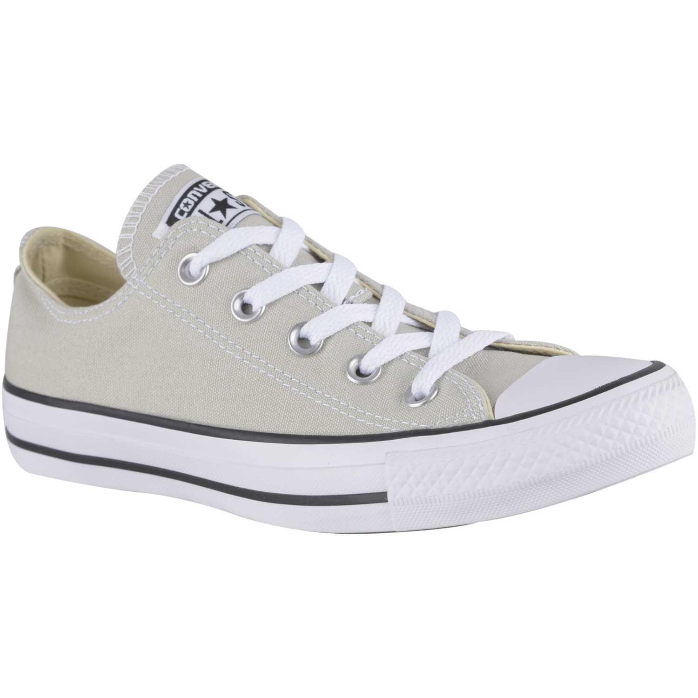 zapatillas mujer converse gris