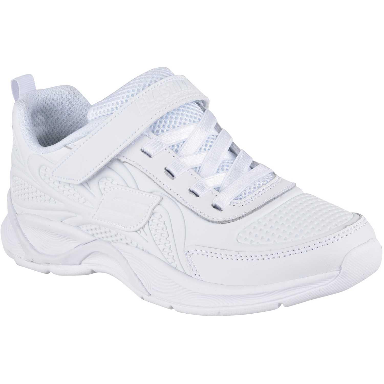 3302678b Zapatilla de Niña Skechers Blanco hi glitz 82281l | platanitos.com