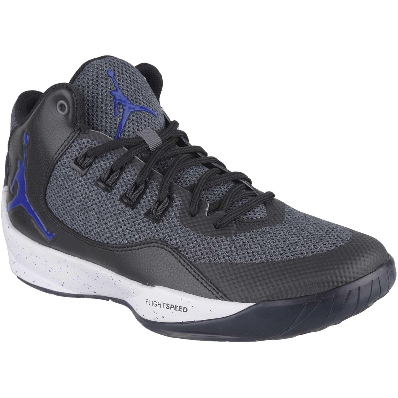 ba795367389 Zapatilla de Hombre Nike Gris   negro jordan rising high 2 ...
