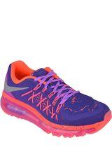 Nike Morado / Coral de Mujer modelo AIR MAX 2015 LAVA GG Zapatillas Deportivo Calzado Casual Running