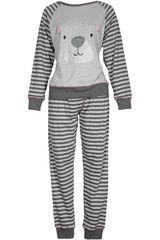 Pijama de Mujer Kayser 65.1093 Gris