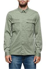 Element Olivo de Hombre modelo HOUSTON FIELD SHIRT Casacas Casual