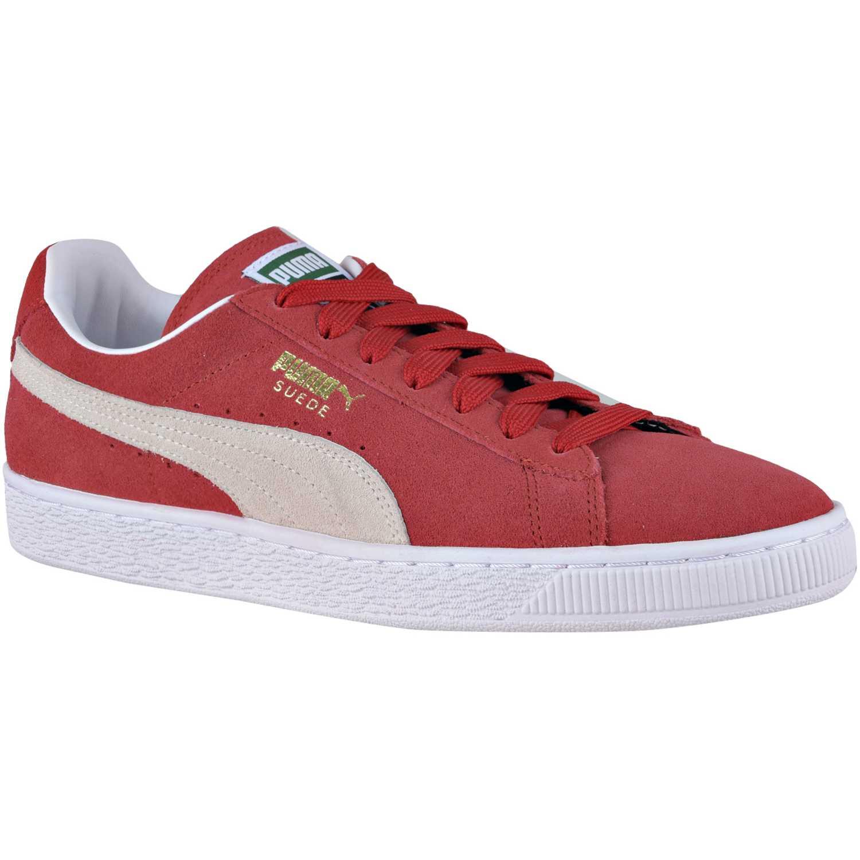 d2e3339ab01 Zapatilla de Hombre Puma Rojo suede classic+