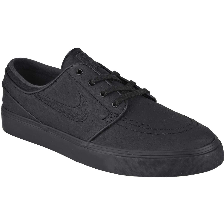 6bda10ca5de08 Zapatilla de Hombre Nike Negro   Negro zoom stefan janoski l ...