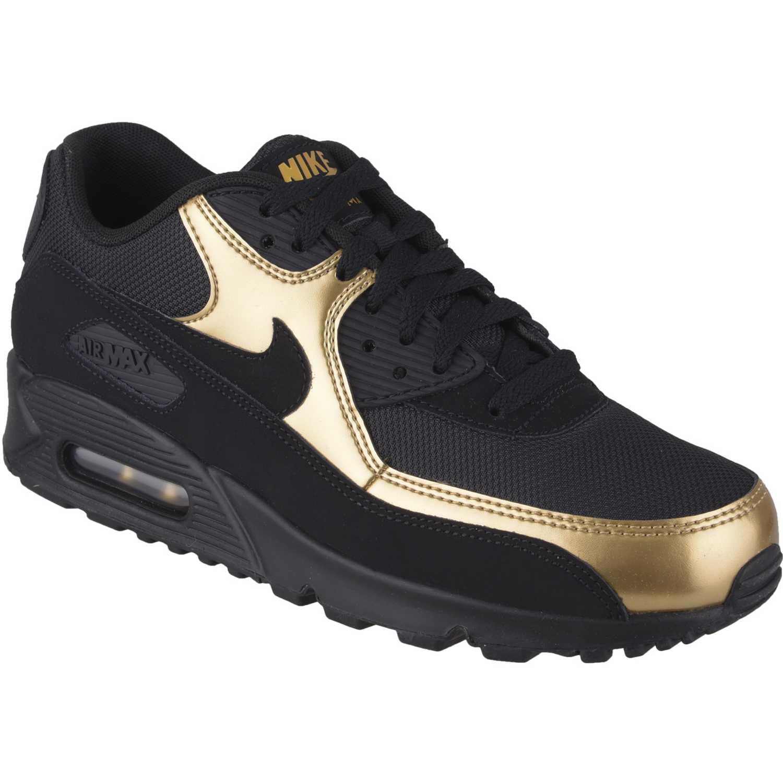 1b7119ee67a86 Zapatilla de Hombre Nike Negro   Dorado air max 90 essential ...