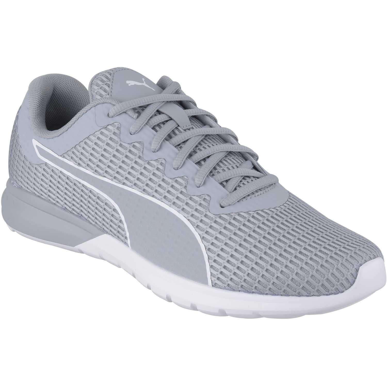 Puma - Zapatillas para hombre, color gris, talla 42.5