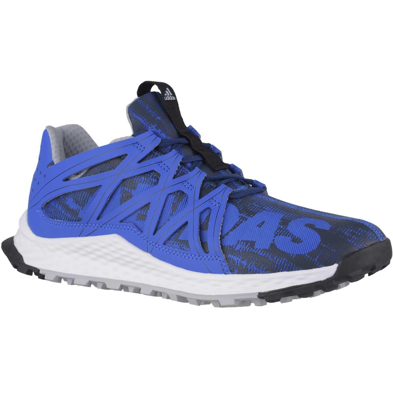 Zapatilla de Hombre Adidas Azul   blanco vigor bounce m  764ddd2424ef4