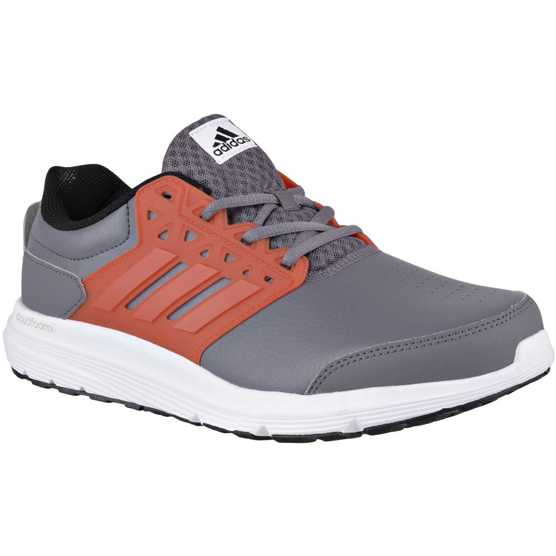 on sale 4daac c2e37 Zapatilla de Hombre adidas Gris   Naranja galaxy 3 trainer