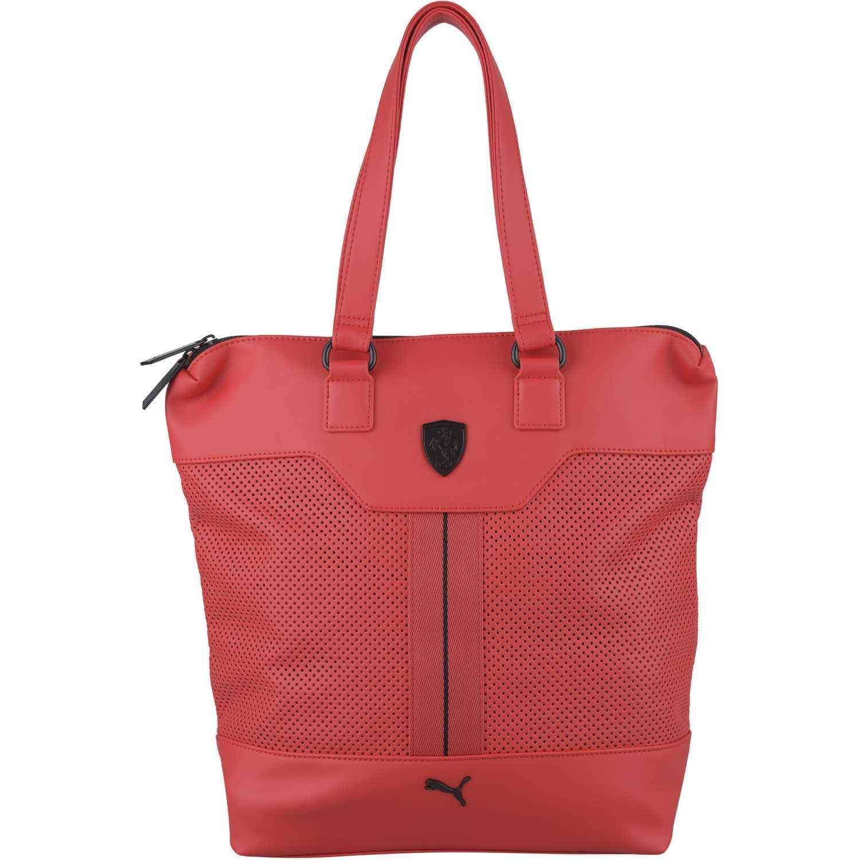Cartera de Mujer Puma Rojo ferrari ls shopper  fab3ba89d5a0