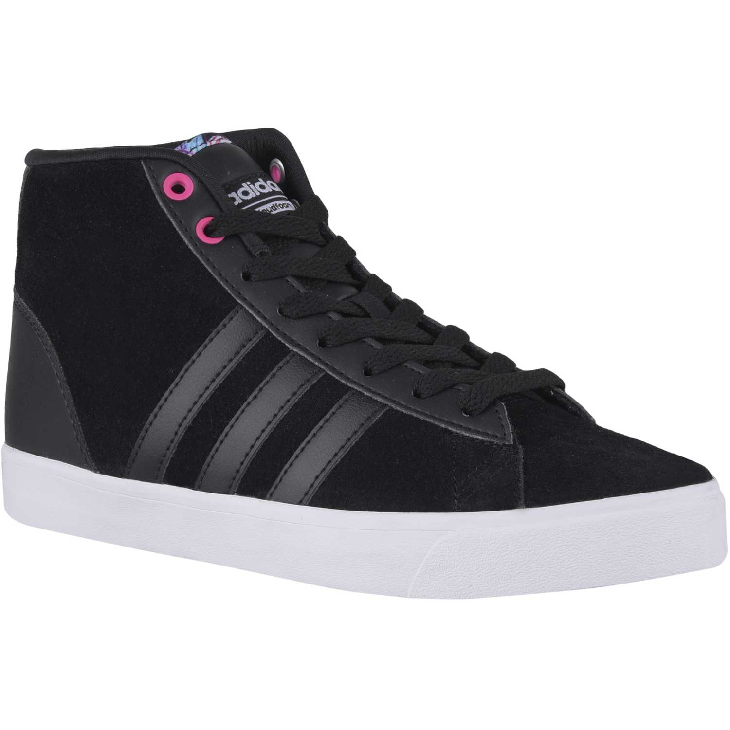 the latest 6a903 5d578 Zapatilla de Mujer adidas NEO Negro  blanco cloudfoam daily qt mid w