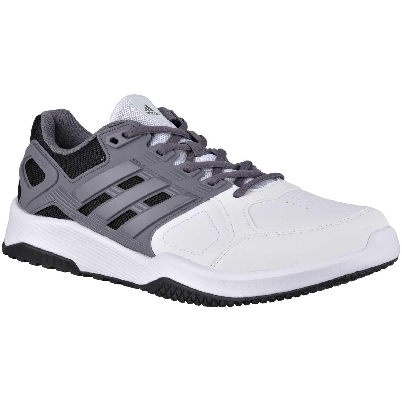 timeless design 28c16 0c23f Adidas Blanco   gris de Hombre modelo DURAMO 8 TRAINER M Deportivo Training  Zapatillas