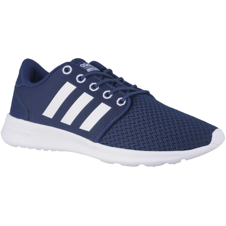 online store 0040a fa446 Zapatilla de Mujer adidas NEO azul   blanco cloudfoam qt racer w