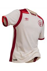 Umbro Crema de Hombre modelo UNIV HOME S/S JERSEY Deportivo Polos Camisetas
