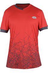 Lotto Rojo de Hombre modelo R7219 Polos Deportivo