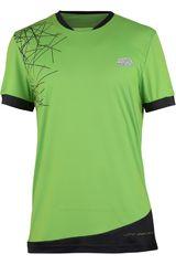 Lotto Verde de Hombre modelo T-SHIRT GRAVIT Polos Deportivo