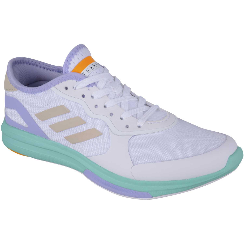 Zapatilla de Mujer Adidas Blanco / turquesa yvori runner