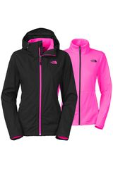 Ropa de Mujer The North Face W ARROWOOD TRICLIMATE JACKET Negro / Rosado