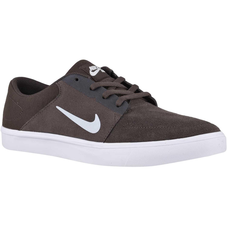 Zapatilla de Hombre Nike Marron sb portmore | platanitos.com