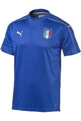 Camiseta de Hombre Puma FIGC ITALIA HOME SHIRT REPLICA Azulino