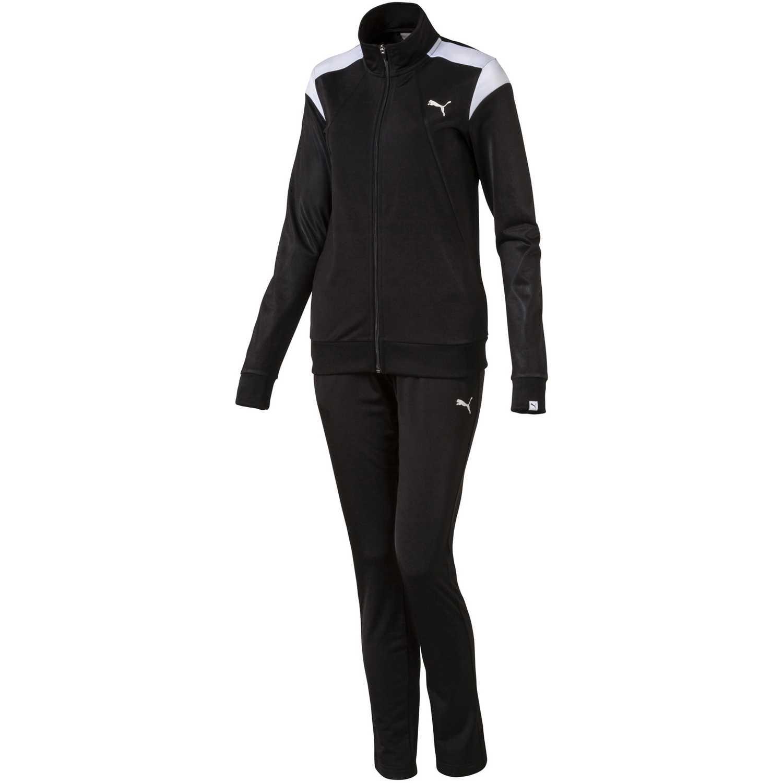 15799e395 Buzo de Mujer Puma Negro /Gris iconic cb tricot suit op w ...