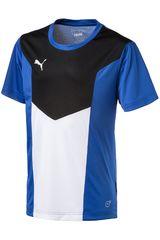 Puma Azul / Blanco de Jovencito modelo FTBLTRG JR SHIRT Polos Camisetas