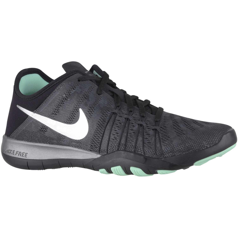 Zapatilla de Mujer Nike Gris oscuro wmns free tr 6 mtlc  ee853bd91